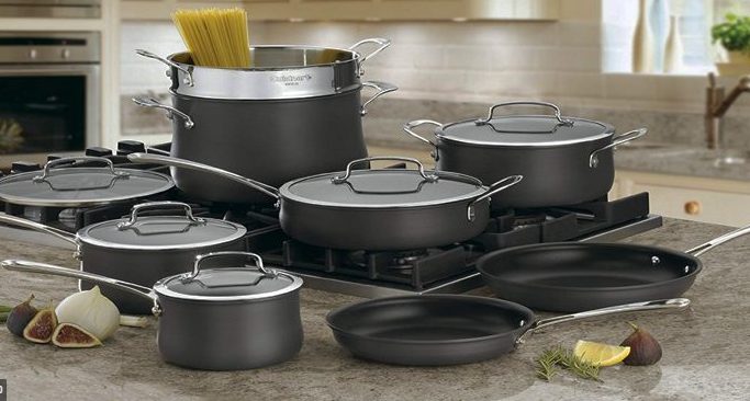 Benefits of Hard Anodized Cookware