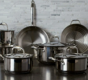 why use stainless steel cookware