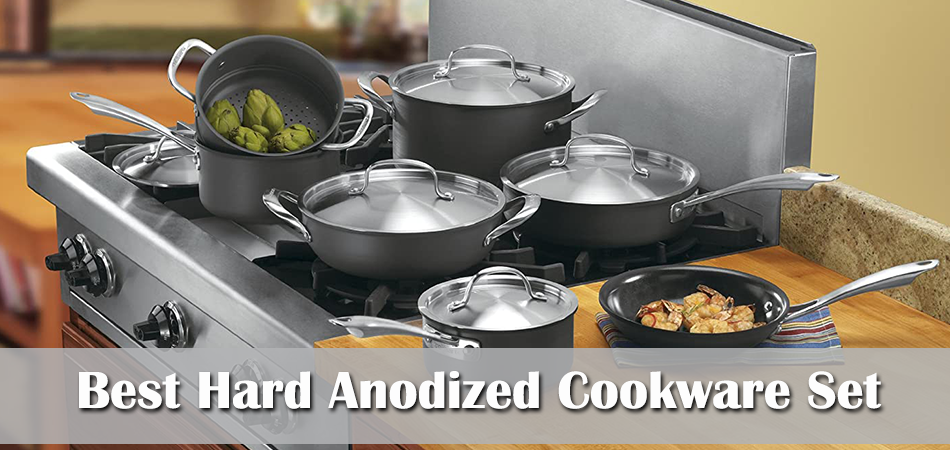 Best Hard Anodized Cookware Set Reviews